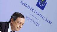Draghi kauft den Markt für Pfandbriefe leer