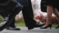 Deutschlands Finanzabteilungen schwächeln bei der Gleichstellung