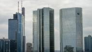 In Frankfurt sind bereits viele Banken ansässig. 60.000 Banker arbeiten hier.