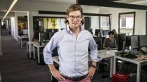 Immer schön lässig bleiben: Valentin Stalf, 30, in dem Büroräumen von N26 in Berlin