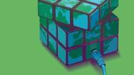 Ein Zauberwürfel als Blockchain: Eine neue Computersoftware soll das Banking erleichtern und vergünstigen.