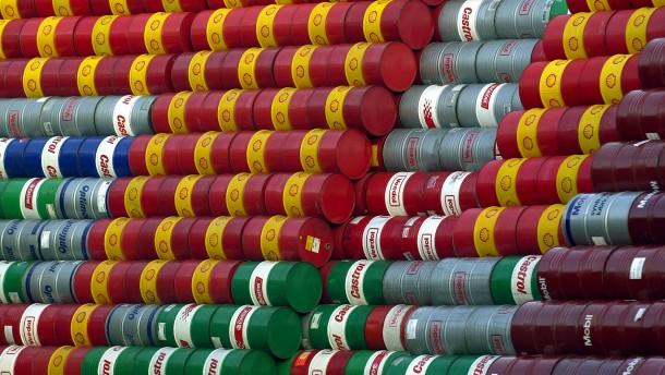 Öl wird innerhalb einer Woche mehr als 7 Prozent billiger