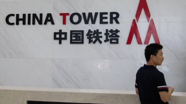 Chinesischer Sendemastbetreiber geht an die Börse