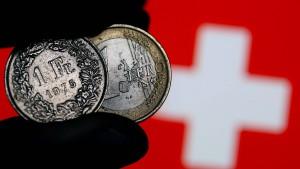 Am Schweizer Aktienmarkt wird die Luft dünner