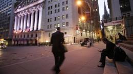 Zitterpartie um Technologieaktien an der Wall Street