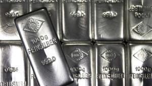 Fondsinvestoren drängen in Silber