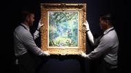 """Künftig über Token erhältlich? Renoirs """"Sentier dans le bois"""", gerade bei Christie`s versteigert für 12.7 Millionen Pfund."""