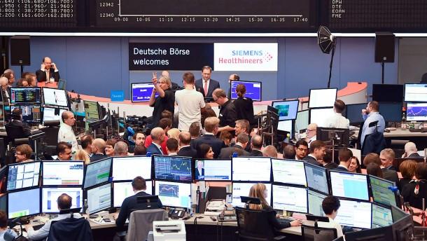 Unruhe tut der Börse gut