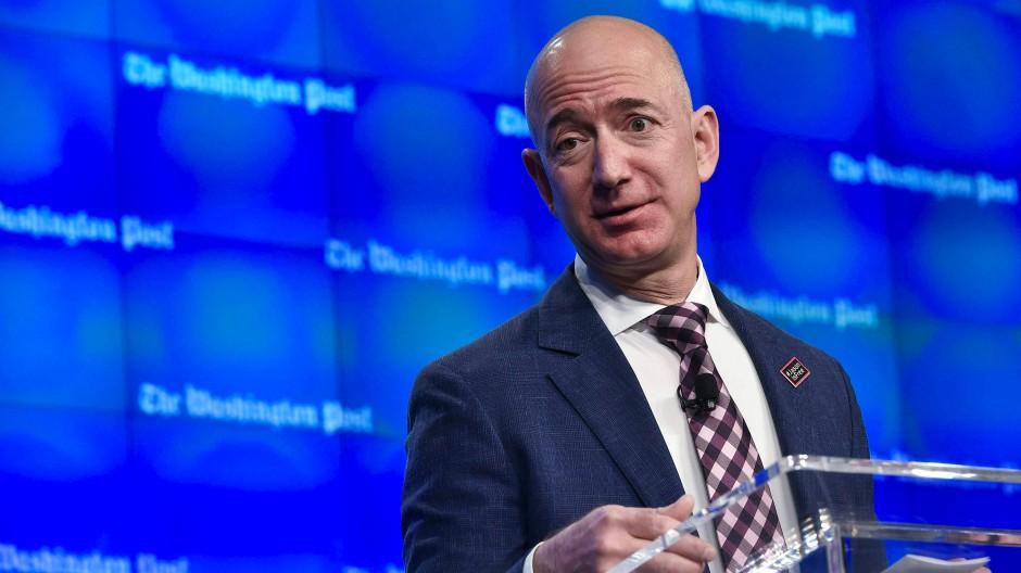 Ihm schenken die Börsianer gerne ihr Vertrauen: Amazon-Chef Jeff Bezos