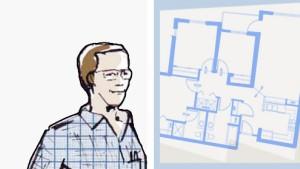 Der Architekt dämpft die Euphorie des Bauherrn