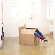 Bye bye altes Leben, hallo neue Wohnung: Mieter haben weniger Verantwortung – und sind flexibel, wenn doch mal ein Umzug ansteht.