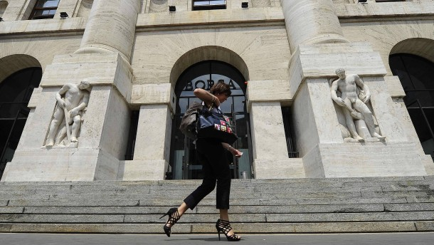 Italienische Börse feiert staatliche Bankenrettung