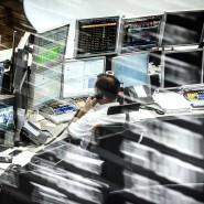 Der Handelsraum der Deutschen Börse in Frankfurt. Jedes Börsenjahr ist transparent.