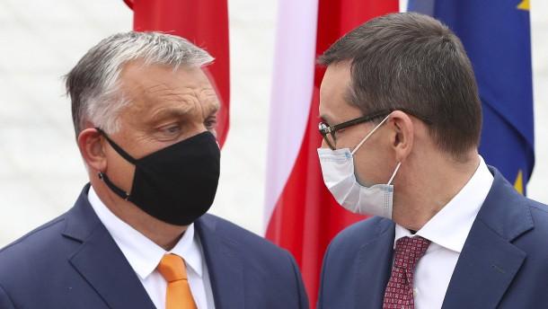 """""""Die EU reagiert sich gern an Polen und Ungarn ab"""""""