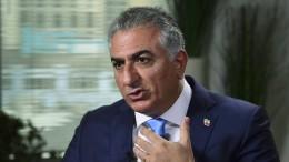 Früherer Kronprinz erwartet Umsturz in Iran