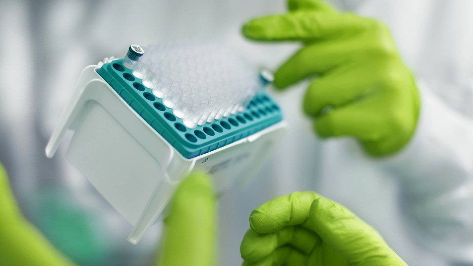 Laborszene bei Biontech (Symbolfoto)