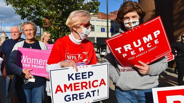 Trumps Strategie für den Rostgürtel