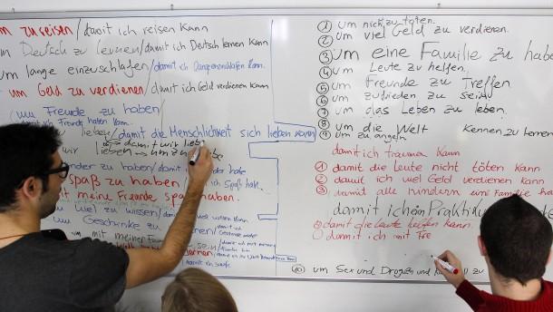 Ungarn, Polen und Amerikaner lernen weniger Deutsch