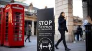 Lockerungen in Sicht: In Regionen mit wenigen Fallzahlen will die britische Regierung den Lockdown abschwächen.