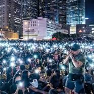 Hongkong. Großer Andrang bei einer Solidaritätsveranstaltung für verhaftete Demonstranten: Seit Juni 2019 kam es in Hongkong zu mehr als 6.000 Festnahmen.