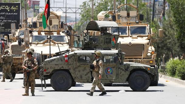 Kampf um die afghanische Beute
