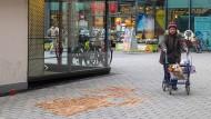 Tatort: Im Frankfurter Stadtteil Bornheim wurde eine junge Frau durch mehrere Messerstiche getötet.