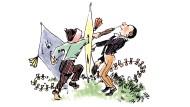 Wie von der Stechuhr gestochen: Angehende Männer, die sich in der Kunst des Multitaskings üben
