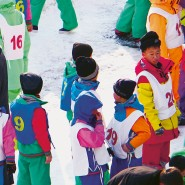 Skiort Masik-Ryong in der Provinz Kangwŏn-do