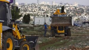 Israel treibt den Siedlungsbau trotz Kritik aus den USA voran
