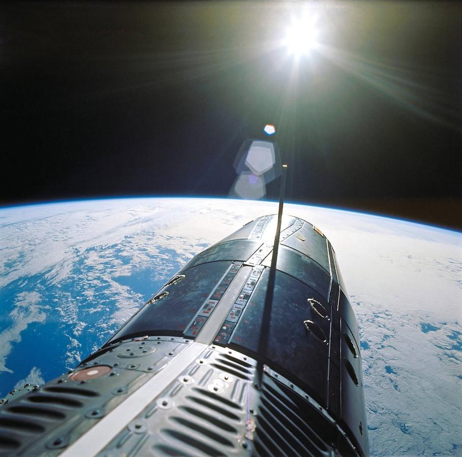 Gemini-9-Mission: Sie war eine der schwierigsten Missionen. Trotz aller Probleme machten Gene Cernan und Tom Stafford spektakuläre Fotos.