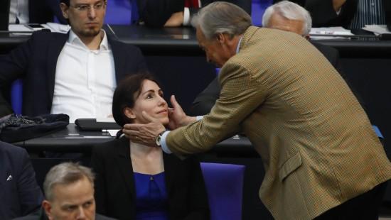 AfD-Abgeordnete Harder-Kühnel bei Wahl zur Bundestags-Vize gescheitert