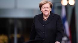 Merkel will sich nicht einmischen