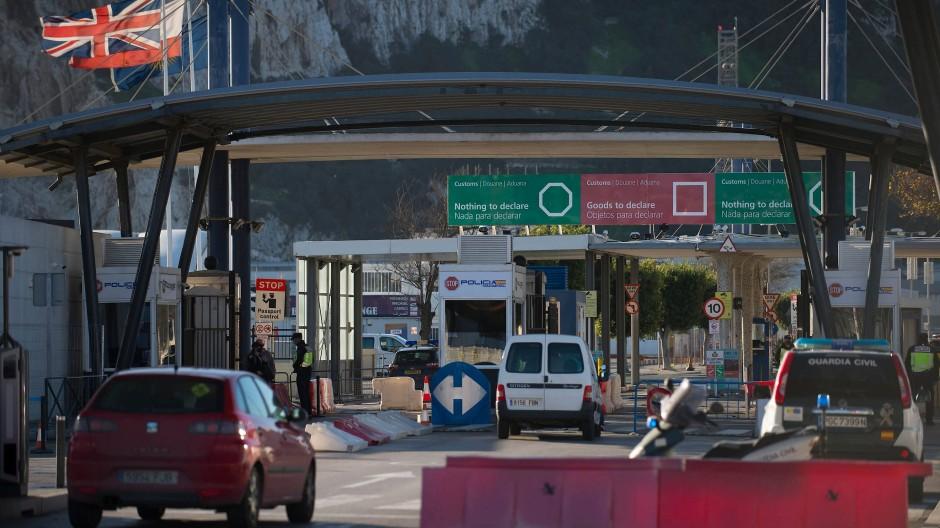 Eine Bewegungsfreiheit, wie seit 300 Jahren nicht mehr: Am 1.Januar 2021 an der Grenze zwischen Spanien und Gibraltar