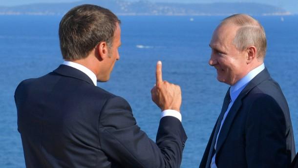 Macrons Liebe zu Moskau erkaltet
