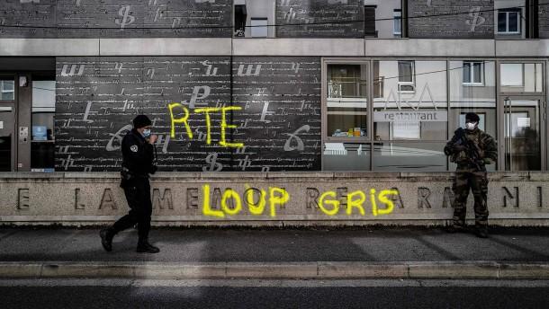 """Schluss für die """"Grauen Wölfe"""" in Frankreich"""