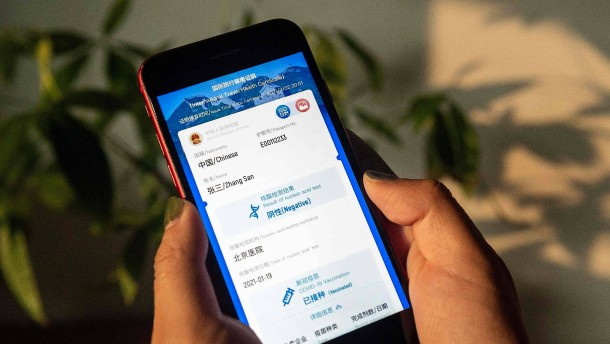 Peking wirbt für seinen globalen Corona-Impfpass
