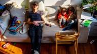 Nicht nur in Dresden: Familienalltag während des ersten Lockdowns im März 2020