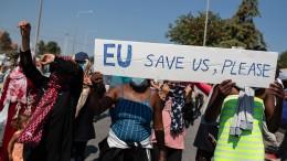 UNHCR fordert umgehende Hilfe für Flüchtlinge aus Moria