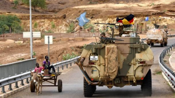 Schwieriges Terrain in Mali