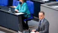 Außenminister Heiko Maas (SPD) am 19. Mai im Bundestag