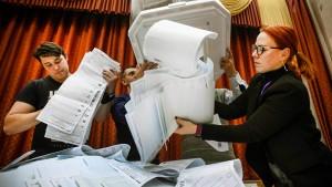 Ließ Putin mit E-Voting das Wahlergebnis fälschen?