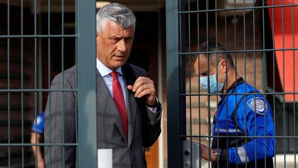 Der tiefe Fall des Hashim Thaçi