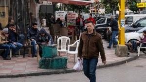 Die Aasgeier kreisen über Beirut