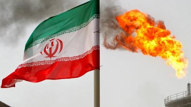 Explosion auf iranischem Öltanker