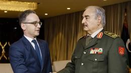 Haftar will laut Maas Waffenstillstand einhalten