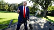 Donald Trump stößt mit seinem Verhalten im Syrien-Konflikt auch Republikaner vor den Kopf.