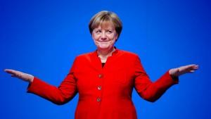 Achtzig Momente mit Merkel