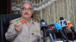 Ein Warlord will libyscher Präsident werden
