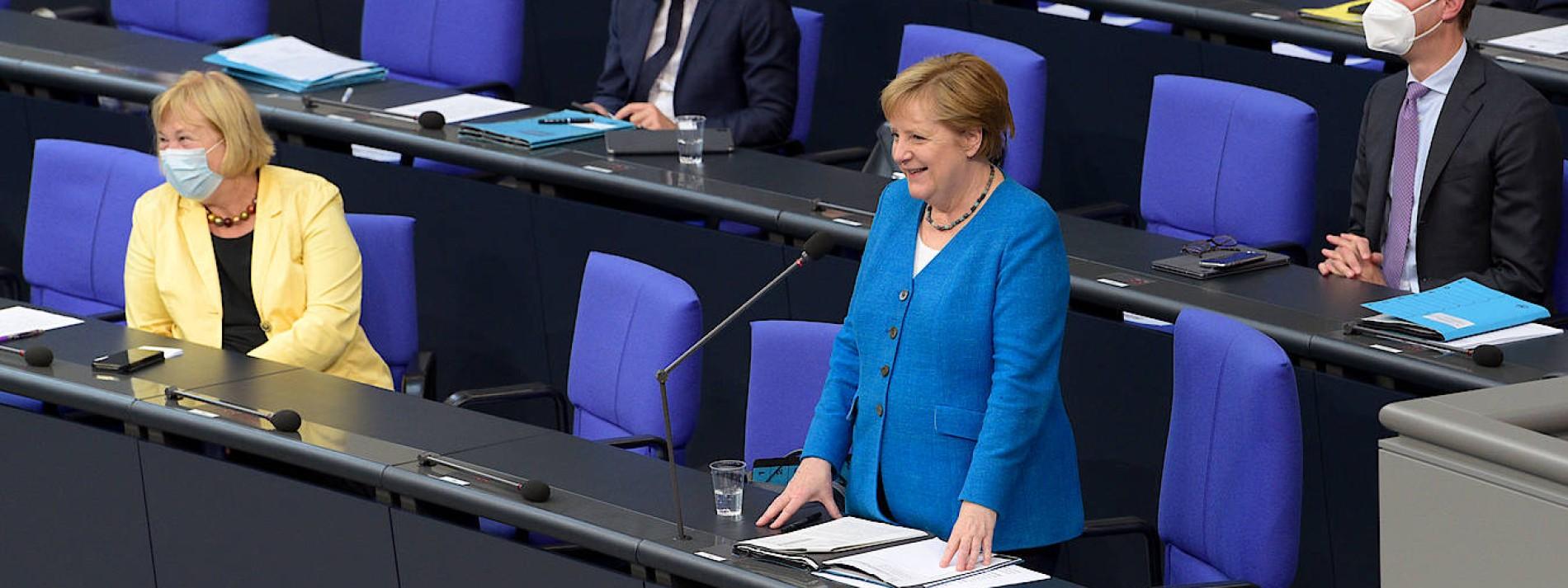 Frau Merkels Gespür für Glatteis