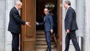 Außenminister erhöhen Druck auf Iran